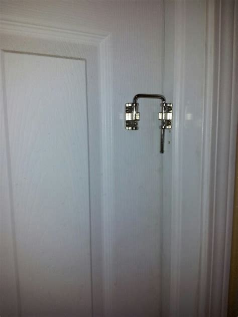 Patio Door Locks Work Great On The Bathroom Door To Keep Lock Sliding Closet Doors