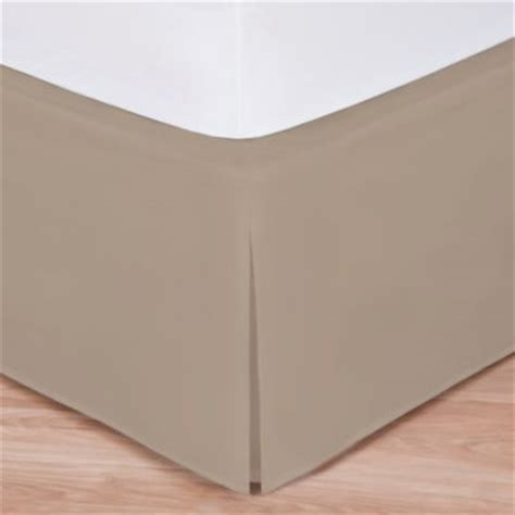 california king bed skirt buy diamond matelasse tailored california king bed skirt in taupe from bed bath beyond