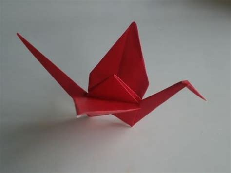 Simple Origami Crane - origami crane how to make