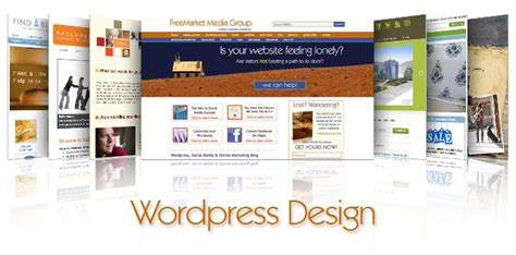 custom layout in wordpress custom wordpress design freemarket media group