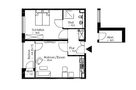 Grundriss Wohnung 6 Zimmer by R 246 Weland 6b 2 Zimmer Wohnungen Ca 66 6 Qm