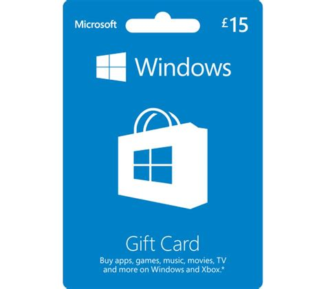 Gift Card Software - microsoft windows gift card 163 15 deals pc world