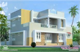 2 floor house beautiful 2 floor villa elevation in 1400 sq kerala