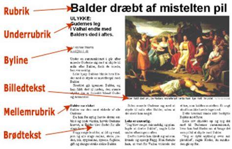 layout af en artikel layout journalistik