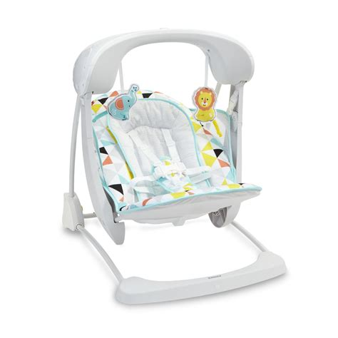 fisher price swing outdoor fisher price deluxe take along swing seat geometric