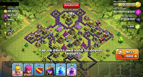 coc auto layout the best clash of clans layouts for farming and defense
