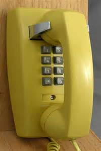 modern wall phone childhood flashback nostalgia post theberry