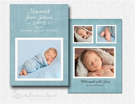 free birth announcement templates for photoshop 187 adrienne
