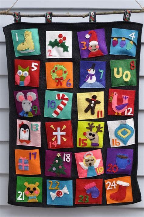 make an advent calendar eyfs best 25 felt advent calendar ideas on