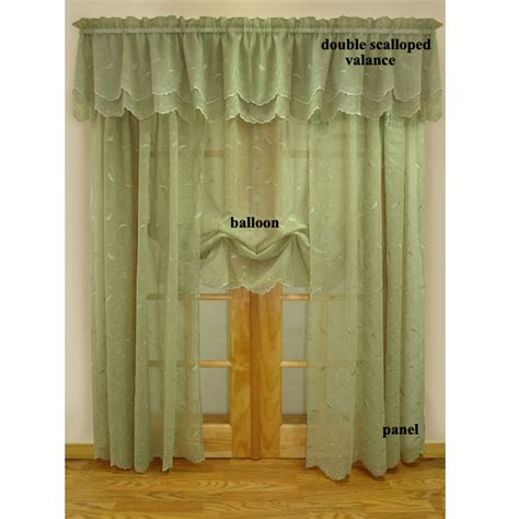 hathaway curtains hathaway embroidered semi sheer curtains