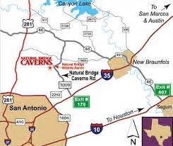 texas caverns map s tuppence 2 cents in brit tx underground bridge caverns other caves karst
