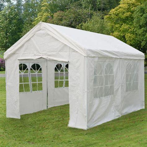 Universal Pavillon 3x6 Meter Weiss