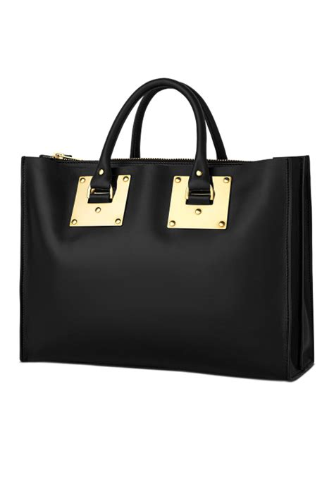 Hulme Gibson South Tote hulme albion east west tote in black in black lyst
