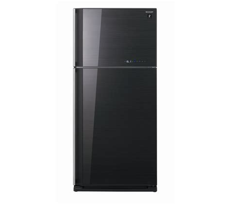 Freezer Sharp 8 Rak sharp sjgc680vbk fridge freezer black