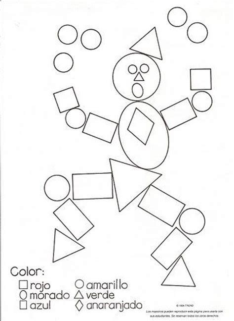 dibujos de un payaso con figuras geometricas resultado de imagen para figuras geometricas para ni 241 os
