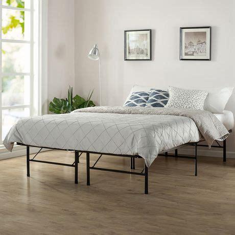 full size bed frame walmart spa sensations smartbase twin full size steel bed frame