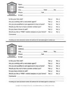 Real Estate Lead Sheet Template by Sign In Sheet On Back To School Family Math