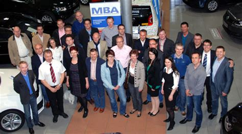 Mba At 26 by Besichtigung Des Autohauses Ortner In Perg Am 26 April 2012