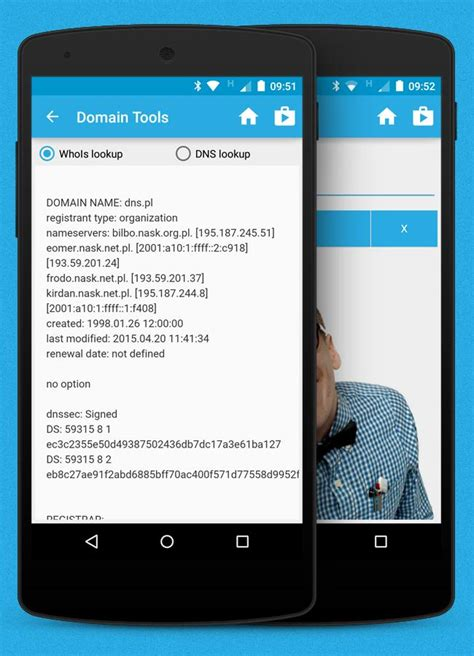 whois dns lookup domain tools  android apk