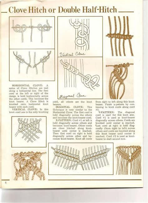 How To Do Macrame Knots - 25 best ideas about macrame knots on macram 233