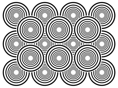 Free Coloring Pages Of Optical Illusion Color Coloring Pages Optical Illusions
