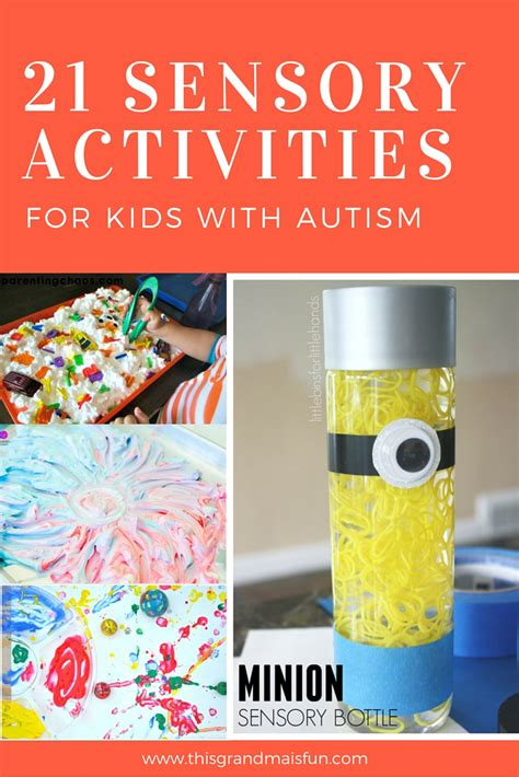 crafts for with autism 21 sensory activities for with autism tgif this