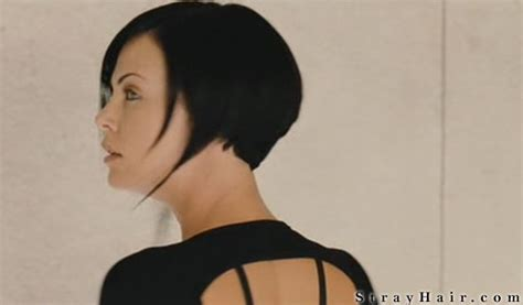 aeon flux black woman s hairstyle charlize theron aeon flux movie hairstyle strayhair