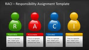 raci chart powerpoint template