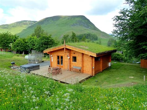 Log Cabins And Cottages With Tubs by Scotsview Glenbeag Mountain Lodges