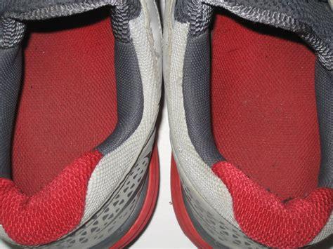 Last 1 Pair St Original Heels darrel washington redskins worn signed nike sneakers 1st pair of work out