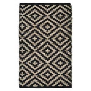 nate berkus 2x3 black accent rug target
