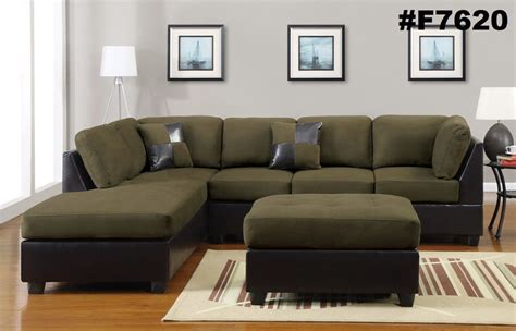 sectional microfiber sofa sectional sofa furniture microfiber sectional 3 pc living room set 6 color ebay