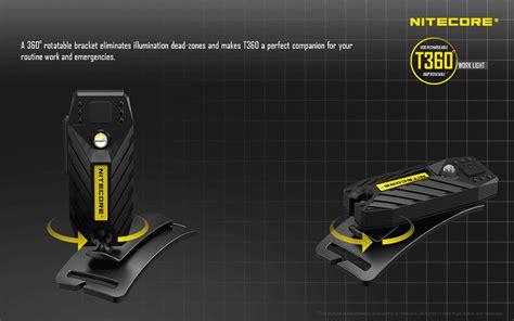 Nitecore T360 Tiny Series 45 Lumens Usb Rechargeable Flashlight nitecore t360 tiny series 45 lumens usb rechargeable flashlight black jakartanotebook