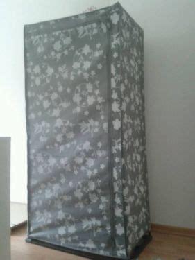 Kleiderschrank Ebay Kleinanzeigen textilkleiderschrank faltschrank textil kleiderschrank