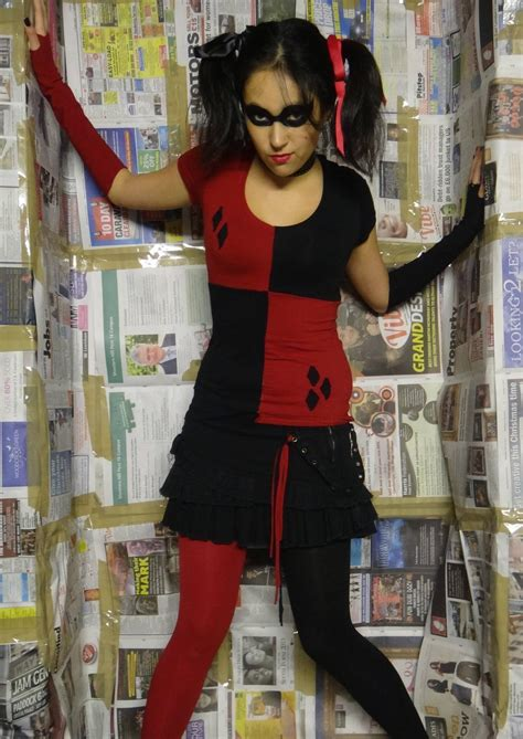 Handmade Harley Quinn Costume - harley quinn costumes costumes fc