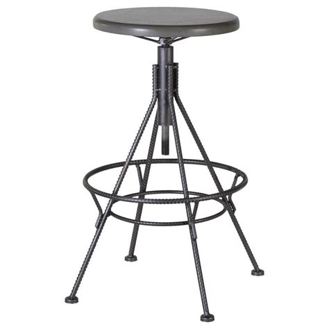 Industrial Style Bar Stool Industrial Style Adjustable Bar Stool Mulberry Moon