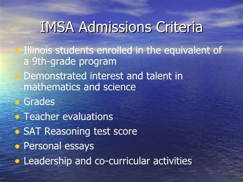 Imsa Application Essays by Diversity At Imsa Opportunities And Challenges Around Race