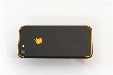 apple iphone 7 matte black skin kit screen protector