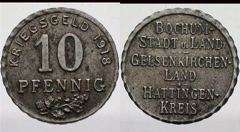 bochum möbelhaus 10 pfennig 1918 bochum stadt u bochum sehr sch 246 n ma shops