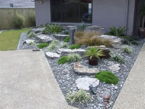 Front Garden Designs And Ideas Rock Garden Small Front Yard Design And Magnificent
