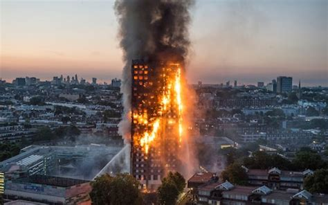 grenfell tower cladding   burned  quickly