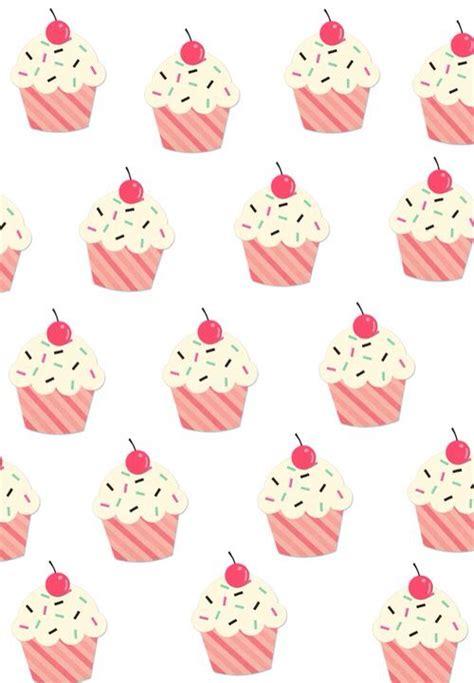 cupcake pattern tumblr cupcake fondos cute background pinterest cupcake