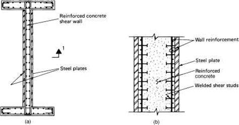 shear wall section composite building systems resisting system northern