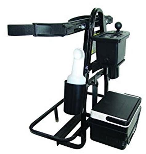 Golf Cart Bag Rack Attachment universal golf cart rear seat deluxe bag