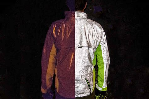 Ultimate Visibility Torch Cycling Jacket Shines At Night | ultimate visibility torch cycling jacket shines at night