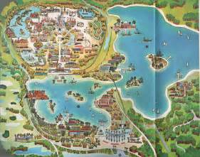 The 1971 Walt Disney World Map A Detailed Look At Bay