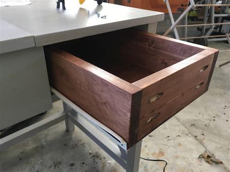 cheap drawer slides diy flip top vanity free diy plans rogue engineer