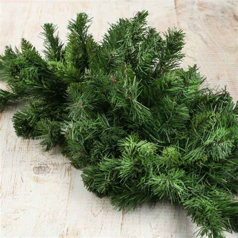 artificial pine swag holiday florals christmas and