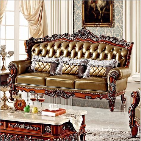 high quality european antique living room sofa furniture 2017 hot selling new arrival high quality european antique