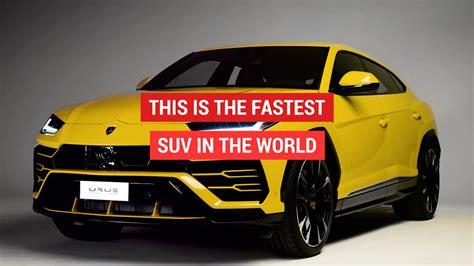 fastest lamborghini new lamborghini urus is the fastest suv ever aol uk cars